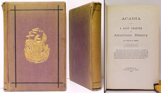 Image for Acadia : A Lost Chapter in American History. First Edition