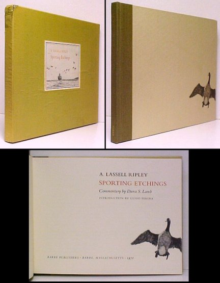 Image for Sporting Etchings.  ltd ed in slipcase