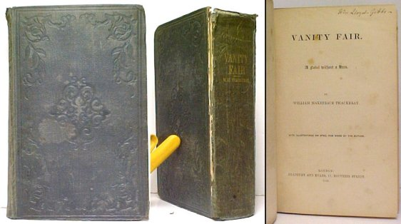 Image for Vanity Fair.  First Edition, Mixed state, original cloth