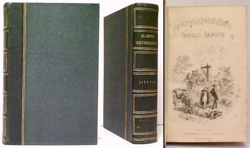 Image for The Life and Adventures of Martin Chuzzlewit.  1st book edition. 2nd state