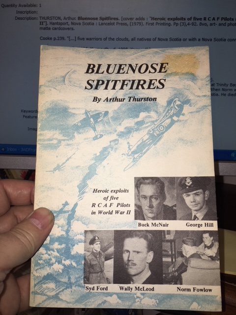 Image for Bluenose Spitfires : Heroic exploits of five R C A F Pilots in World War II.  First Edition