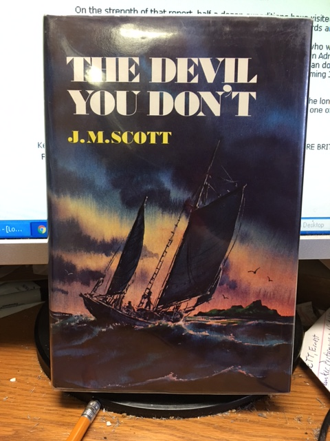 Image for The Devil You Don't. First American Edition in dustjacket