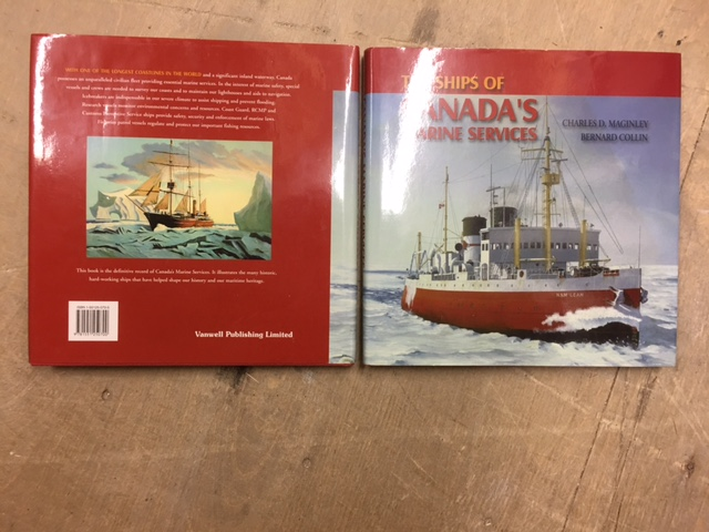 Image for Ships of Canada's Marine Services.  in dj