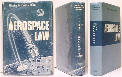 Image for Aerospace Law.  signed in torn dj
