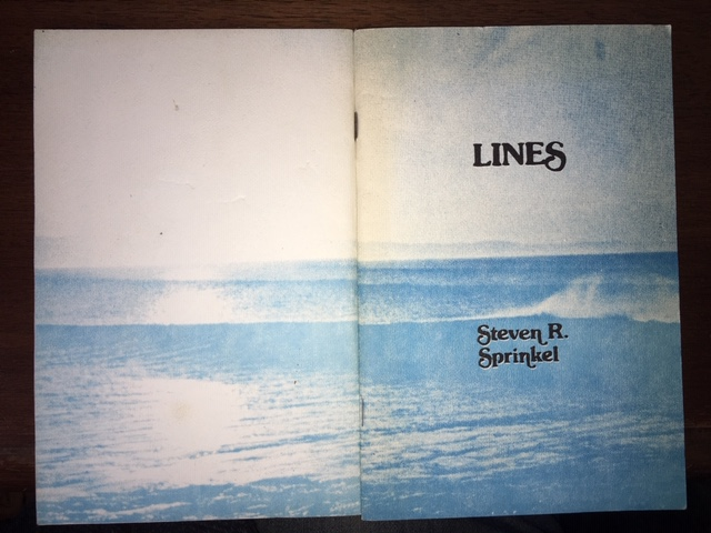 Image for Lines : : a collection of poetry from the first ten years 1968 to 1977. First Edition, Signed