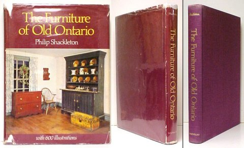 Image for Furniture of Old Ontario.  1st Cdn in dj