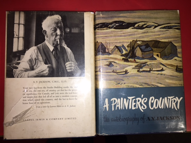Image for A Painter's Country : The Autobiography of A. Y. Jackson.  First Edition in dustjacket