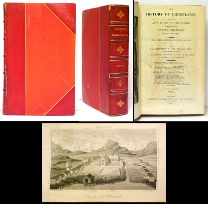 Image for History of Greenland: Including an Account of the Mission carried on by theUnited Brethren in That Country. 2-vols-in-1.