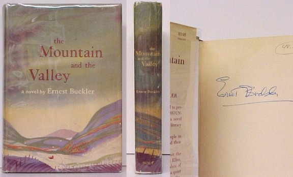 Image for Mountain and the Valley.  First Edition in dustjacket, Signed