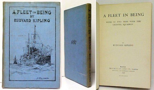 Image for Fleet in Being : Notes of Two Field Trips with the Channel Squadron. First British Edition