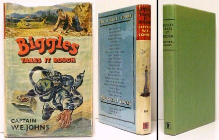 Image for Biggles Takes It Rough.  First Edition in dustjacket
