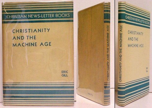 Image for Christianity and The Machine Age.  First Edition in dustjacket