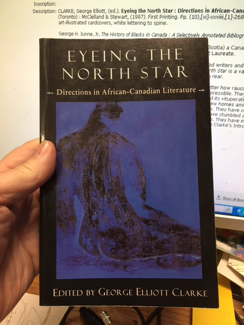 Image for Eyeing the North Star : Directions in African-Canadian Literature.  First Edition