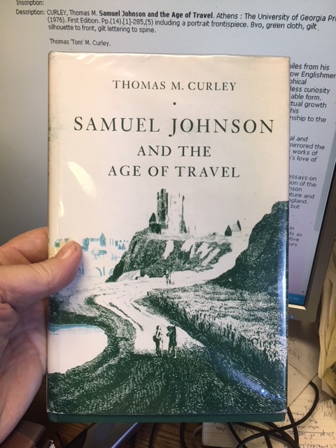 Image for Samuel Johnson and the Age of Travel. First Edition in dustjacket.