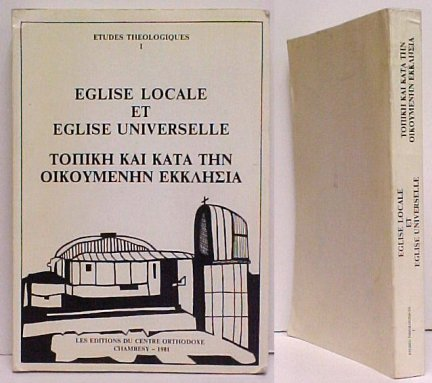 Image for Eglise Locale et Eglise Universelle