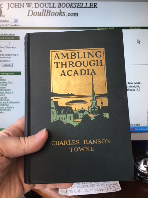 Image for Ambling Through Acadia.  First Edition, with TLS