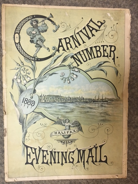 Image for Evening Mail, Carnival Number, August 1889