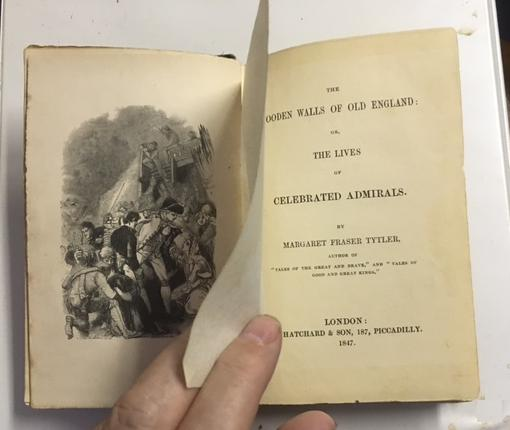 Image for Wooden Walls of Old England, or, the Lives of Celebrated Admirals. First Edition