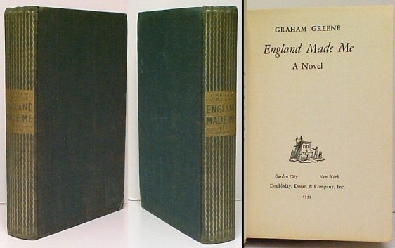 Image for England Made Me: : A Novel.  First American Edition