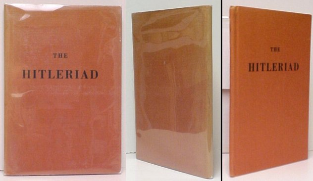 Image for Hitleriad. First Edition in dustjacket
