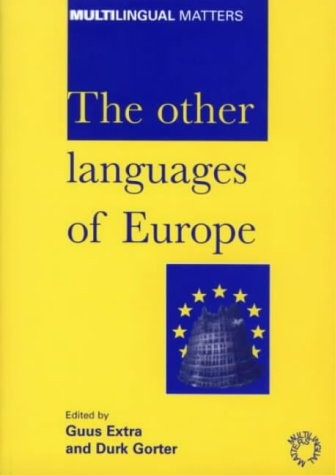 Image for Other Languages of Europe : Demographic, Sociolinguistic and Educational Perspectives, Hardcover
