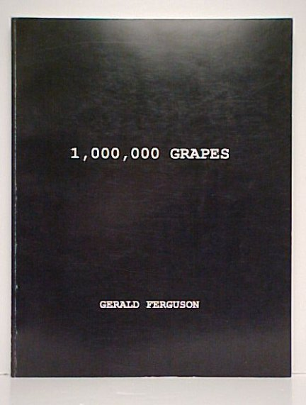 Image for 1,000,000 Grapes.  Signed Limited edition