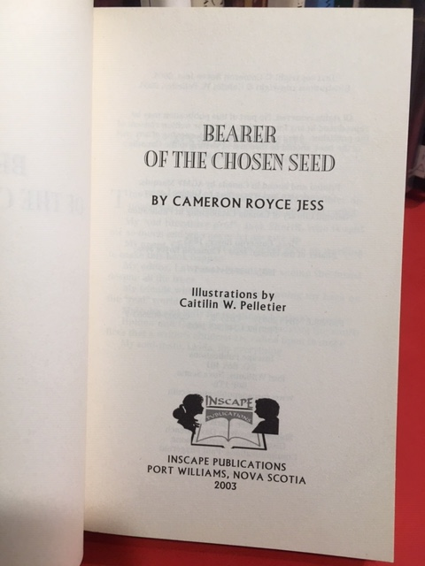 Image for Bearer of the Chosen Seed. First Edition