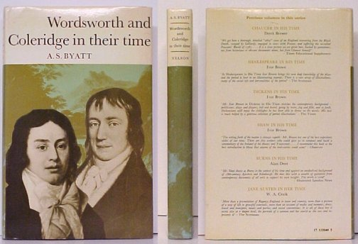 Image for Wordsworth and Coleridge in Their Time.  1st UK in dj.