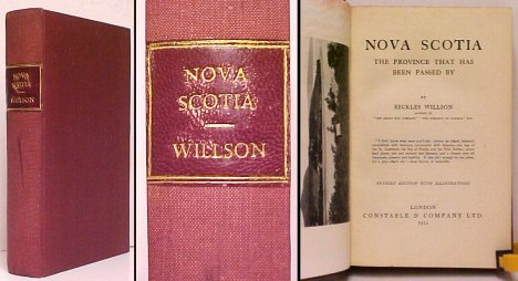 Image for Nova Scotia. UK ed. no dj