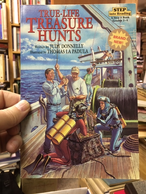 Image for True-Life Treasure Hunters.  ill. card covers.