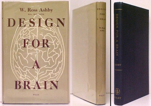 Image for Design for a Brain.  1st US in dj