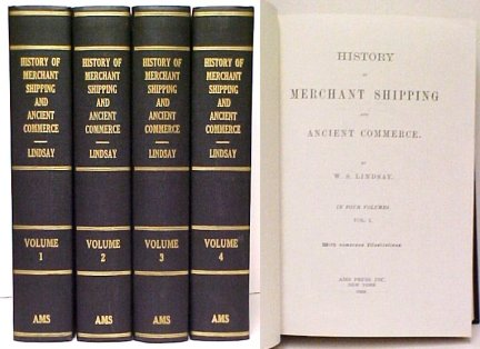 Image for History of Merchant Shipping and Ancient Commerce.  4 vols.