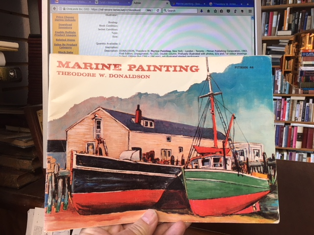 Image for Marine Painting.  First Edition.