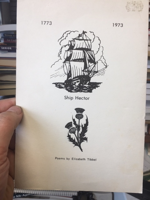 Image for Ship Hector 1773-1973