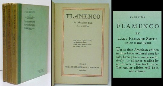 Image for Flamenco.  3 vols.  1st US.  proof.