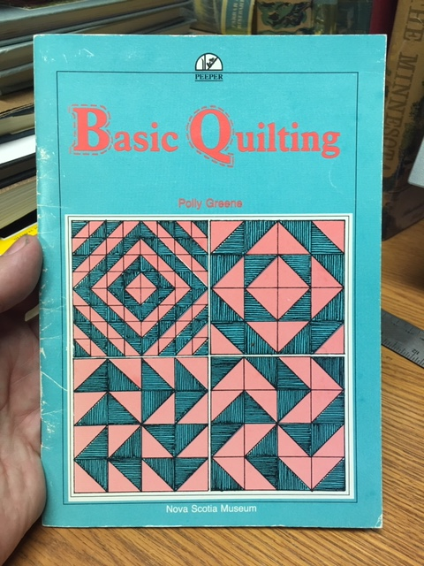 Image for Basic Quilting. First Edition