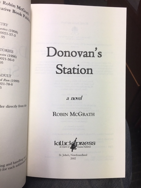 Image for Donovan's Station. First Edition