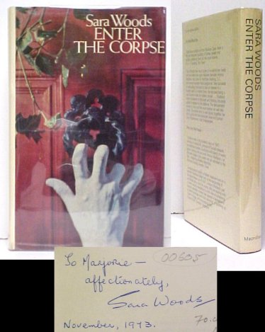 Image for Enter the Corpse. 1st UK in dj. signed