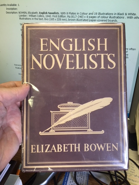 Image for English Novelists.  First Edition in dustjacket