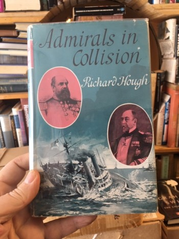 Image for Admirals in Collision.  First Edition in dustjacket