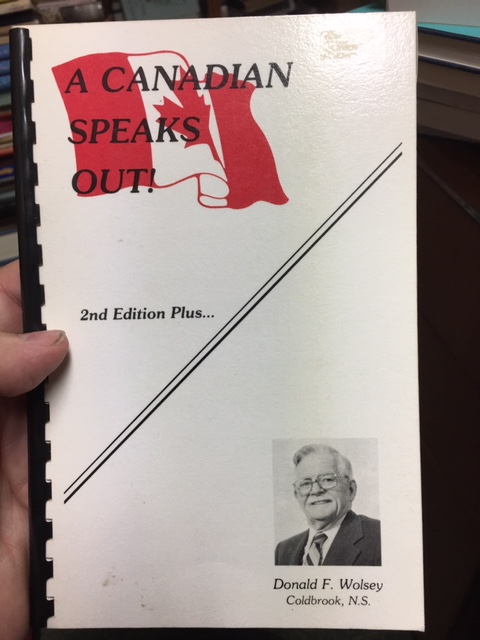 Image for A Canadian Speaks Out! Second Edition