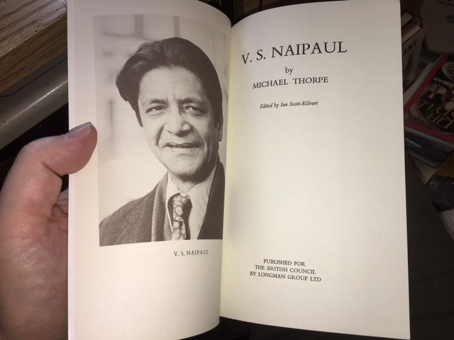 Image for V. S. Naipaul. Writers and their Work, 244.   First Edition