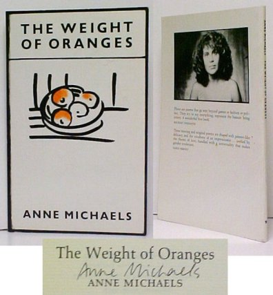 Image for Weight of Oranges.  1st pbk.  signed.