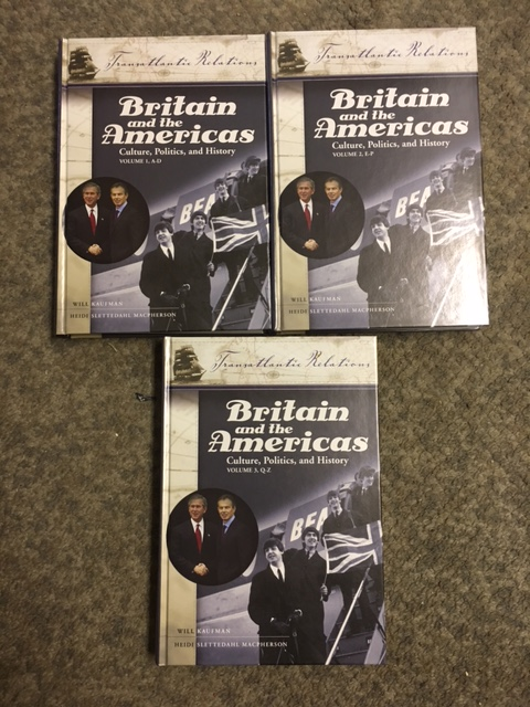 Image for Britain and the Americas : Culture, Politics, and History.  Three volume set