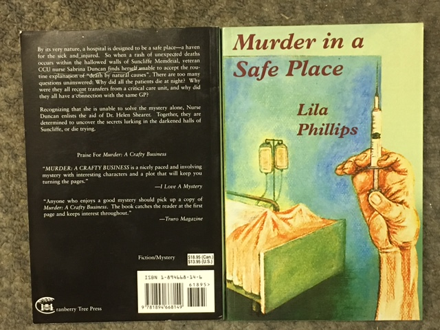 Image for Murder in a Safe Place.  First Edition, Signed.