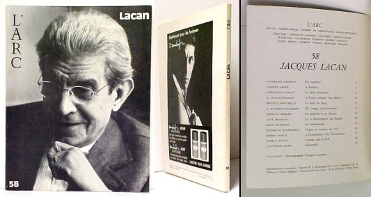 Image for Lacan : L'Arc 58