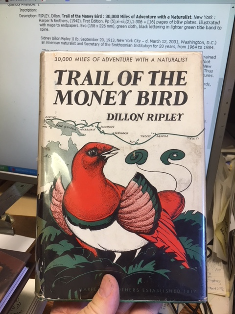 Image for Trail of the Money Bird.  First Edition in dustjacket, Signed