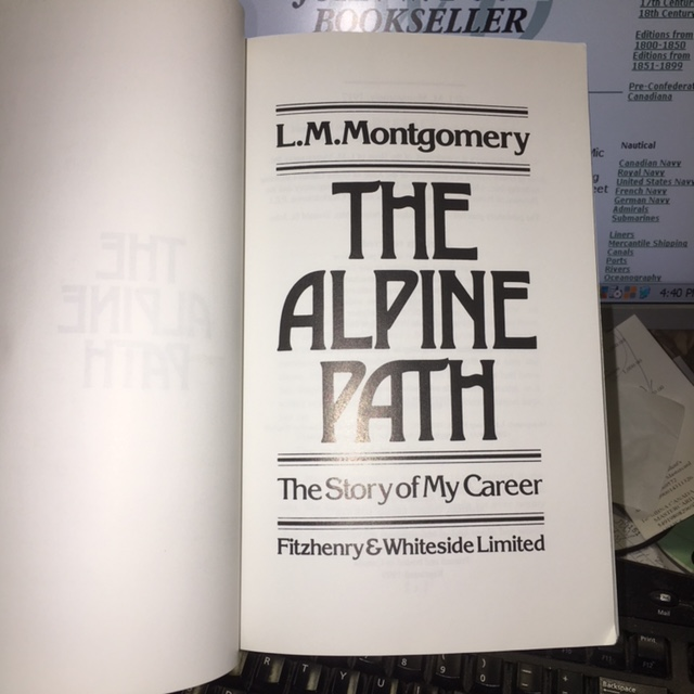 Image for The Alpine Path : The Story of my Career.  First Paperback Edition