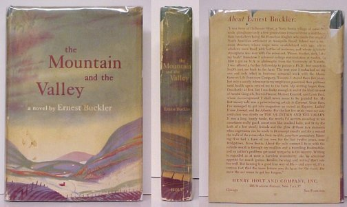 Image for Mountain and the Valley.  First Edition in dustjacket