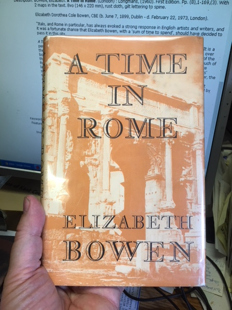 Image for A Time in Rome. First Edition in dustjacket